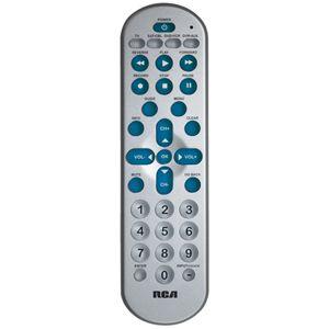 RCR4358R RCA 4 Device Universal Big Button Remote Control R