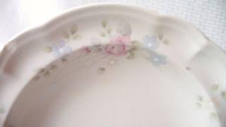 Pfaltzgraff Tea Rose Large Rimmed Soup Bowl Stoneware