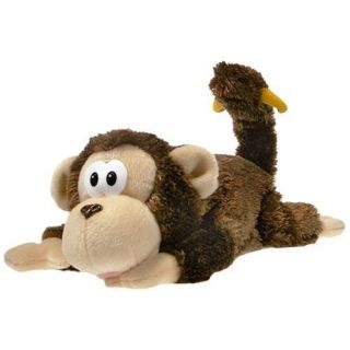 Monkey LOL Rollover Laughing Plush Toy Battery Operated