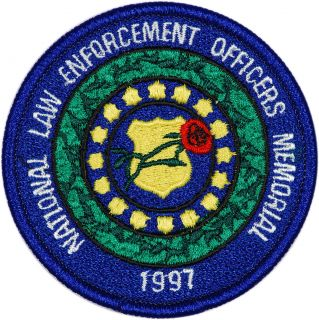 1997 US National Law enforcement Officers Memorial Commemorative Coin