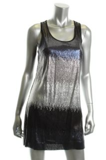 Laundry by Shelli Segal New Multi Color Sequined Sheath Cocktail Dress