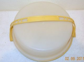 Clear Round Cake aker Single Layer Cake Covered Pan Desser