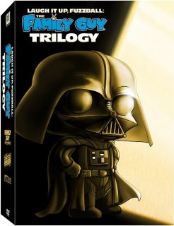 Family Guy Star Wars Trilogy DVD Laugh It Up Fuzzball