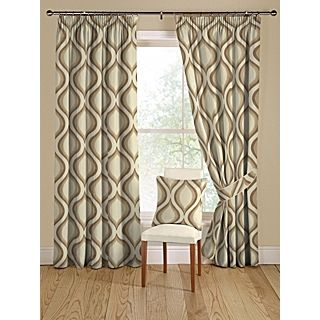 Montgomery Tear Drop natural curtain range