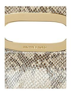 Michael Kors Berkley snake clutch