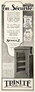 Fireproof Safe Scholz 75 Rue Sain Lazare Paris Securiy French