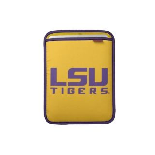 Purple LSU Tigers Logo iPad Sleeves