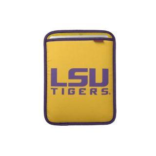Purple LSU Tigers Logo iPad Sleeves