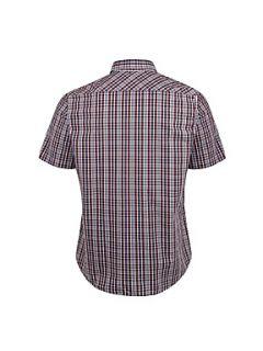 Henri Lloyd Halyard classic short sleeved shirt Crimson