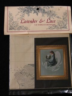 Lace Cross Stitch Pattern Earth Angel New Marilyn Leavitt Imblum 1992