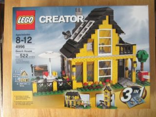 New Factory SEALED Lego Creator 4996 Beach House Free Shipping