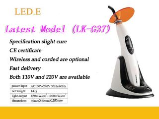 Hot 10W Lamp Woodpecker Lede Dental Cordless LED Curing Light Light