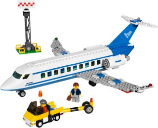 Lego 3181 City Passenger Plane and Airport Repair Tow Truck New SEALED