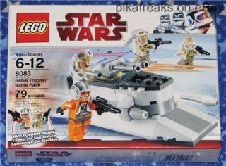 8083 Lego Star Wars Classic Rebel Trooper Battle Pack Play Set 79