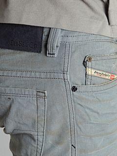 Diesel Thavar 801D slim fit jeans Light Grey