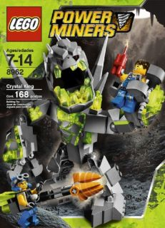 Lego 8962 Power Miners Crystal King Brand New