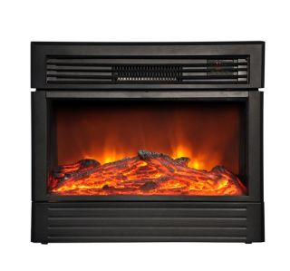 Electric Fireplace Warm Heater with Remote Control LED Flame