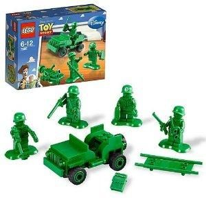 Lego Toy Story Army Men on Patrol 7595 BNIB
