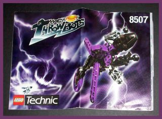 Lego Technic Throwbots Electro Energy Purple Slizer Instruction Manual