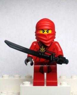 New Lego Ninjago Kai Minifig Red Ninja Minifigure 2258
