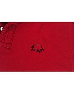 Raging Bull Signature polo shirt Wine
