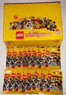 New Lego Collectible Minifigures Series 1 SEALED Set of 16 Minifigs