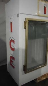 We have a Leer model 602UA25MG single door glass door ice merchandiser