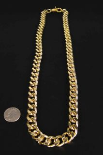 32 Heavy Rope Gold Costume Chain Old School Rapper Run DMC Bling