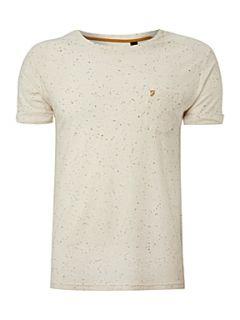 Homepage  Men  Tops & T Shirts  Farah Multi speck print t shirt