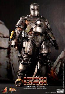 Hot Toys Ironman Mark I One Version 2 0 2 Two Tony Stark LED 1 6
