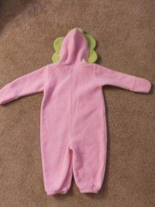 Old Navy Baby Infant Newborn Flower Sleeper Costume Size 6 12 Month