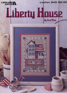 Liberty House Leisure Arts LA940 Cross Stitch Pattern Leaflet