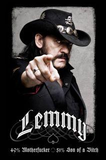 Motorhead Lemmy Poster 49 MOFO