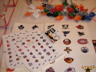 Lego 2003 NHL Hockey Lot Ice Rink 8544 3542 10127 3543 3541 Slammer