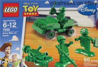 Army Men on Patrol 7595 Lego Disney Pixar Toy Story Theme 90 Piece