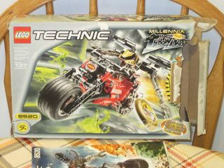 Lego Technic Throwbots Millenia Set 8520 99% Complete With Box