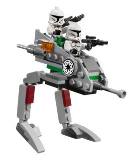 Lego Star Wars Clone Walker Battle Pack 8014 New