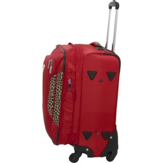 Guess Travel Panar 25 4 Wheel Spinner Expandable Upright Luggage Red