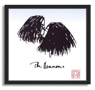 John Lennon Art of John Lennon 11x12 Print Framed 03