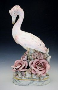 California Art Pottery Figural Birds by Freeman Leidy Noreserv