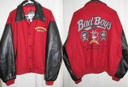 Warner Bros Looney Tunes Bad Boys Wool Leather Jacket