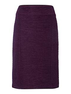 Linea Textured stripe skirt Purple