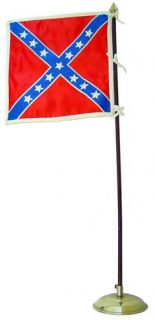 ITPT 61st Virginia 1 6 Scale Confederate Flag and Stand
