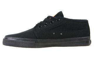 Levis Mens Shoes 514963 A48 Pouch Half 2 Black Mono