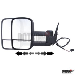 Tow Trailer Power Mirrors LH RH 1992 1999 GMC Suburban