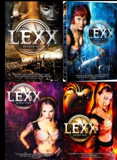 LEXX Complete SEASON 1 2 3 & 4   DVD NEW