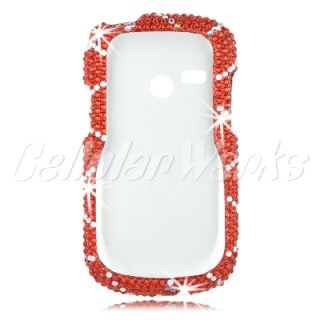 Bling Cell Phone Case Cover for LG LG200, LG501C, AN200 UN200 Saber US