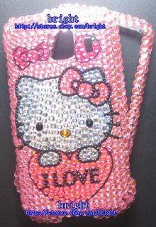 New Hello Kitty Bling Case for LG Optimus s LS670 5