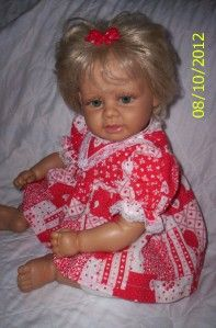 Beautiful Lifesize Doll 21Weight Bottom Heavy The Broadway Collection
