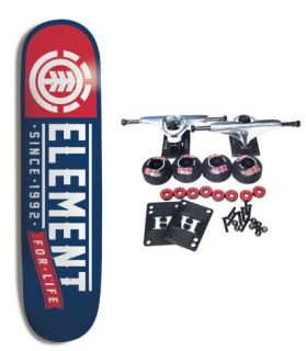 Element Skateboards Complete Skateboard Team for Life 8